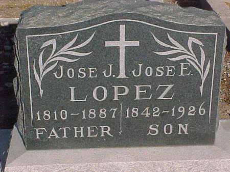 LOPEZ, JOSE  E. - Gila County, Arizona | JOSE  E. LOPEZ - Arizona Gravestone Photos