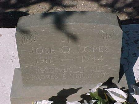 LOPEZ, JOSE  O. - Gila County, Arizona | JOSE  O. LOPEZ - Arizona Gravestone Photos