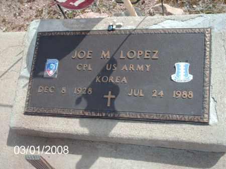 LOPEZ, JOE - Gila County, Arizona | JOE LOPEZ - Arizona Gravestone Photos