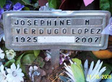 "LOPEZ, JOSEPHINE ""FINA"" - Gila County, Arizona | JOSEPHINE ""FINA"" LOPEZ - Arizona Gravestone Photos"