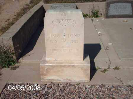 LOPEZ, JESUS - Gila County, Arizona | JESUS LOPEZ - Arizona Gravestone Photos