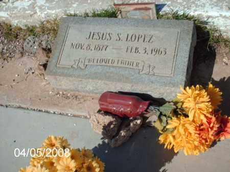 LOPEZ, JESUS S. - Gila County, Arizona   JESUS S. LOPEZ - Arizona Gravestone Photos