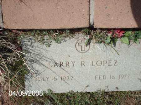 LOPEZ, LARRY R. - Gila County, Arizona   LARRY R. LOPEZ - Arizona Gravestone Photos