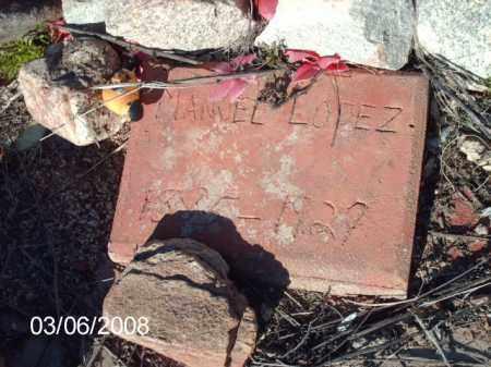 LOPEZ, MANUAL - Gila County, Arizona | MANUAL LOPEZ - Arizona Gravestone Photos
