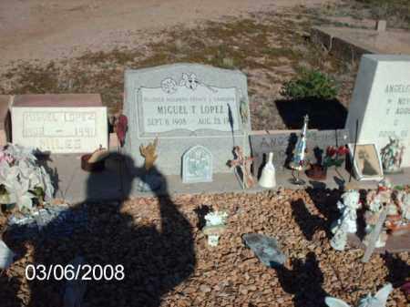 LOPEZ, MIGUEL - Gila County, Arizona | MIGUEL LOPEZ - Arizona Gravestone Photos