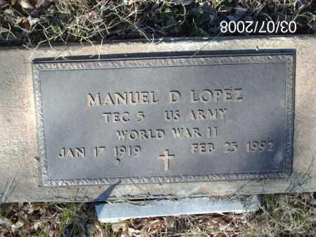 LOPEZ, MANUEL - Gila County, Arizona   MANUEL LOPEZ - Arizona Gravestone Photos