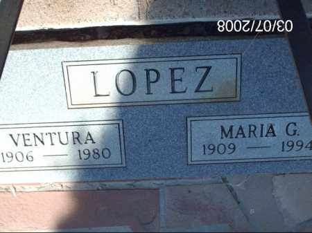 LOPEZ, VENTURA - Gila County, Arizona | VENTURA LOPEZ - Arizona Gravestone Photos