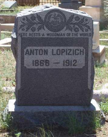 LOPIZICH, ANTON - Gila County, Arizona | ANTON LOPIZICH - Arizona Gravestone Photos
