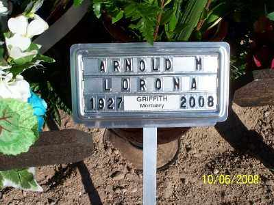 "LORONA, RAMON ARNOLDO ""WEDO"" - Gila County, Arizona | RAMON ARNOLDO ""WEDO"" LORONA - Arizona Gravestone Photos"