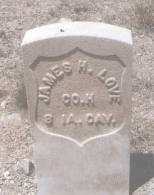 LOVE, JAMES H. - Gila County, Arizona | JAMES H. LOVE - Arizona Gravestone Photos