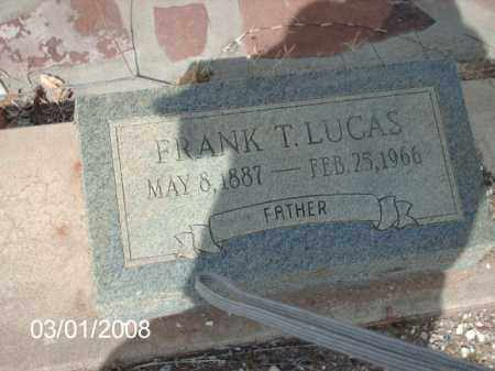 LUCAS, FRANK - Gila County, Arizona | FRANK LUCAS - Arizona Gravestone Photos