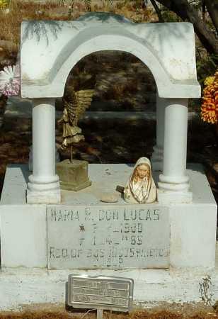 DON LUCAS, MARIA R. - Gila County, Arizona | MARIA R. DON LUCAS - Arizona Gravestone Photos