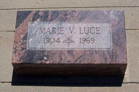 LUCE, MARIE V. - Gila County, Arizona   MARIE V. LUCE - Arizona Gravestone Photos
