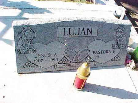 LUJAN, PASTORA P. - Gila County, Arizona | PASTORA P. LUJAN - Arizona Gravestone Photos