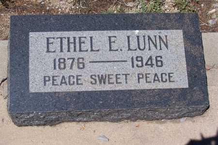 LUNN, ETHEL E. - Gila County, Arizona | ETHEL E. LUNN - Arizona Gravestone Photos