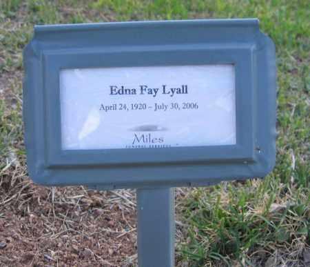 LYALL, EDNA - Gila County, Arizona | EDNA LYALL - Arizona Gravestone Photos