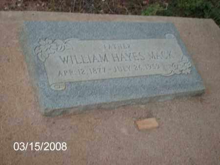 MACK, WILLIAM - Gila County, Arizona | WILLIAM MACK - Arizona Gravestone Photos