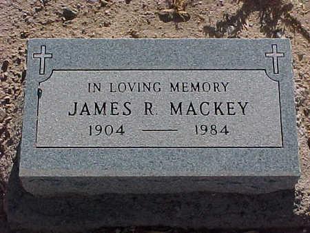 MACKEY, JAMES  R. - Gila County, Arizona   JAMES  R. MACKEY - Arizona Gravestone Photos