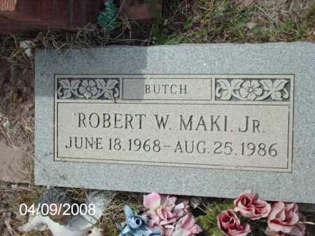 MAKI, ROBERT W. - Gila County, Arizona   ROBERT W. MAKI - Arizona Gravestone Photos
