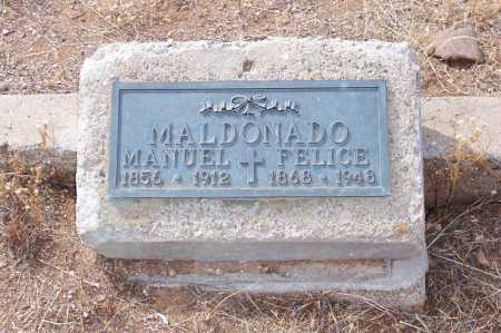 MALDONADO, MANUEL - Gila County, Arizona | MANUEL MALDONADO - Arizona Gravestone Photos