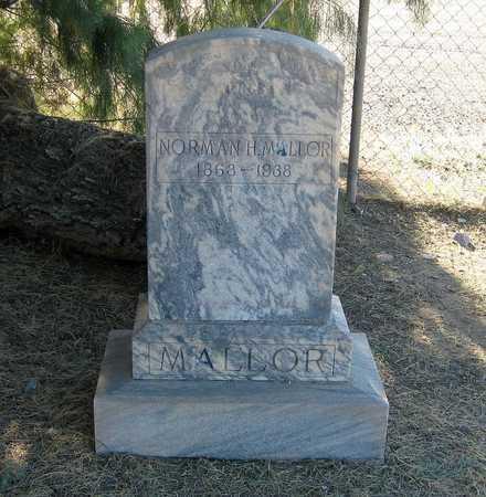MELLOR, NORMAN  H. - Gila County, Arizona | NORMAN  H. MELLOR - Arizona Gravestone Photos