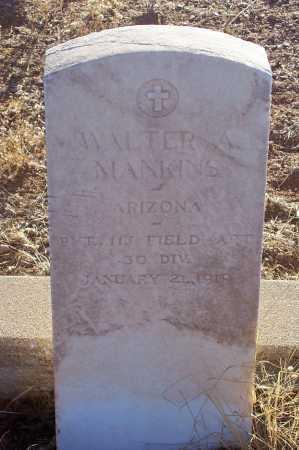 MANKINS, WALTER A. - Gila County, Arizona | WALTER A. MANKINS - Arizona Gravestone Photos