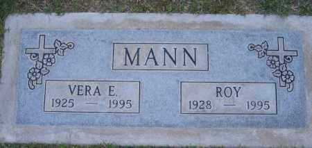MANN, VERA - Gila County, Arizona | VERA MANN - Arizona Gravestone Photos