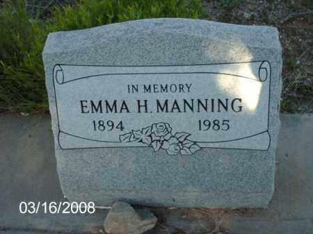 MANNING, EMMA - Gila County, Arizona | EMMA MANNING - Arizona Gravestone Photos