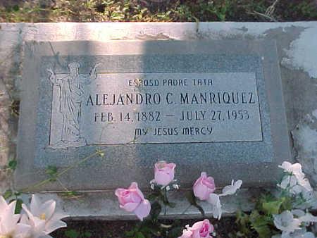 MANRIQUEZ, ALEJANDRO C. - Gila County, Arizona | ALEJANDRO C. MANRIQUEZ - Arizona Gravestone Photos