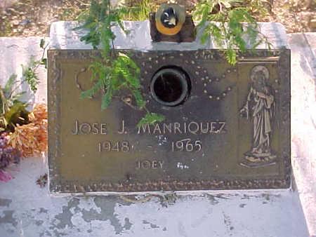 MANRIQUEZ, JOSE  J. - Gila County, Arizona | JOSE  J. MANRIQUEZ - Arizona Gravestone Photos