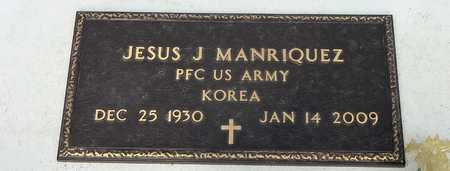 MANRIQUEZ, JESUS J. - Gila County, Arizona | JESUS J. MANRIQUEZ - Arizona Gravestone Photos