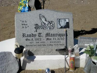MANRIQUEZ, RANDOLPH TRINIDAD - Gila County, Arizona | RANDOLPH TRINIDAD MANRIQUEZ - Arizona Gravestone Photos