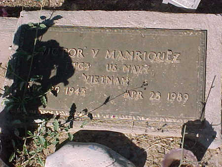 MANRIQUEZ, VICTOR V. - Gila County, Arizona | VICTOR V. MANRIQUEZ - Arizona Gravestone Photos