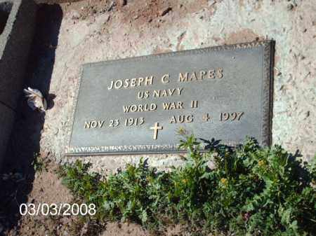 MAPES, JOSEPH - Gila County, Arizona | JOSEPH MAPES - Arizona Gravestone Photos
