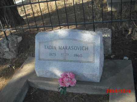 MARASOVICH, TADIA - Gila County, Arizona   TADIA MARASOVICH - Arizona Gravestone Photos