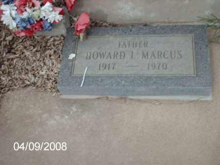 MARCUS, HOWARD L. - Gila County, Arizona | HOWARD L. MARCUS - Arizona Gravestone Photos