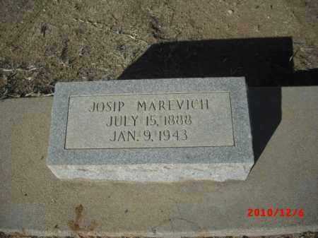 MAREVICH, JOSIP - Gila County, Arizona | JOSIP MAREVICH - Arizona Gravestone Photos