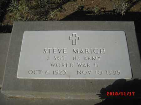 MARICH, STEVE - Gila County, Arizona | STEVE MARICH - Arizona Gravestone Photos