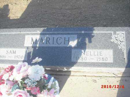 MARICH, NELLIE - Gila County, Arizona | NELLIE MARICH - Arizona Gravestone Photos