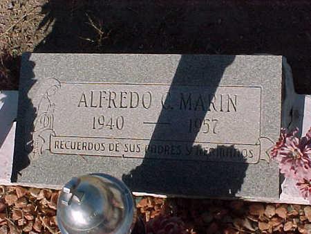 MARIN, ALFREDO  C. - Gila County, Arizona | ALFREDO  C. MARIN - Arizona Gravestone Photos