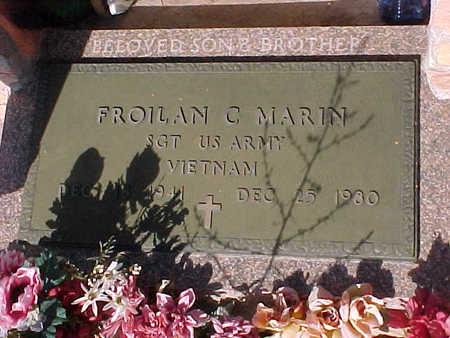MARIN, FROILAN  C. - Gila County, Arizona | FROILAN  C. MARIN - Arizona Gravestone Photos