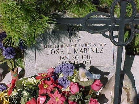 MARINEZ, JOSE L. - Gila County, Arizona | JOSE L. MARINEZ - Arizona Gravestone Photos