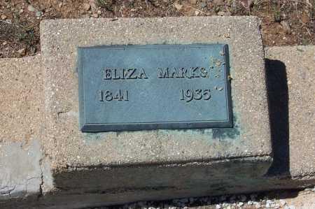 MARKS, ELIZA - Gila County, Arizona | ELIZA MARKS - Arizona Gravestone Photos