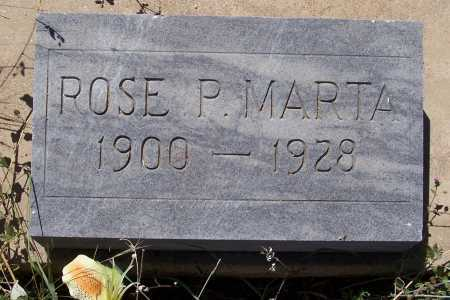 MARTA, ROSE PAULINE - Gila County, Arizona | ROSE PAULINE MARTA - Arizona Gravestone Photos
