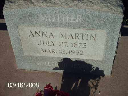 MARTIN, ANNA - Gila County, Arizona | ANNA MARTIN - Arizona Gravestone Photos