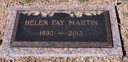MARTIN, HELEN FAY - Gila County, Arizona | HELEN FAY MARTIN - Arizona Gravestone Photos
