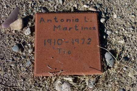 MARTINEZ, ANTONIO  L. - Gila County, Arizona | ANTONIO  L. MARTINEZ - Arizona Gravestone Photos