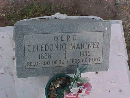 MARINEZ, CELEDONIO - Gila County, Arizona | CELEDONIO MARINEZ - Arizona Gravestone Photos
