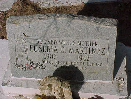 MARTINEZ, EUSEBIA O. - Gila County, Arizona | EUSEBIA O. MARTINEZ - Arizona Gravestone Photos