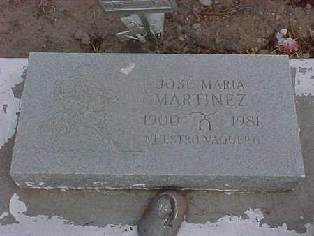 MARTINEZ, JOSE MARIA - Gila County, Arizona | JOSE MARIA MARTINEZ - Arizona Gravestone Photos